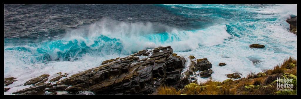Kangaroo Island: Krachende Wellen am Admirals Arch