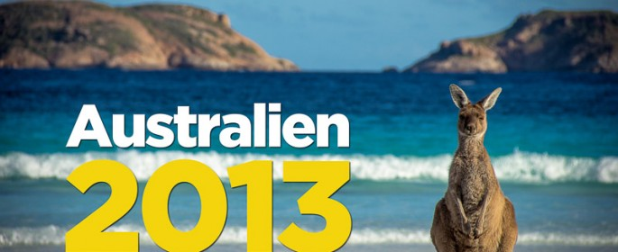 featured image Australien Kalender 2013 ist da!