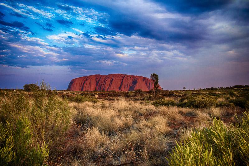 Juli 2013: Uluru